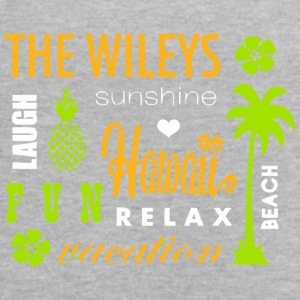 The Wileys Sunshine Hawai Relax Vocation - Women's Flowy Tank Top by Bella