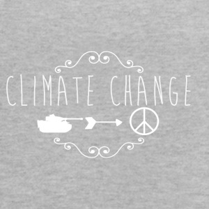 climate change / anti war - Women's Flowy Tank Top by Bella