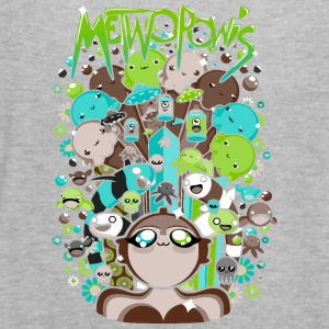 Metwopowis - Women's Flowy Tank Top by Bella