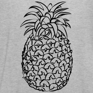 Pineapple Line Drawing - Women's Flowy Tank Top by Bella