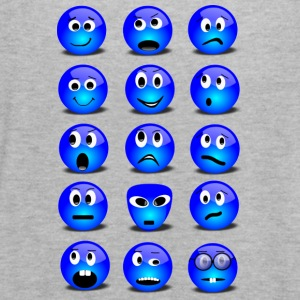 Emotional Emoticons - Women's Flowy Tank Top by Bella