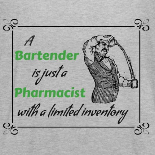 A Bartender is a Pharmacist with Limited Inventory - Women's Flowy Tank Top by Bella
