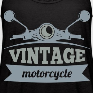 Vintage Motorcycle - Women's Flowy Tank Top by Bella