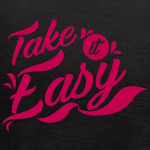 Take it Easy - Women's Flowy Tank Top by Bella