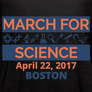 March For Science Boston Shirt - Women's Flowy Tank Top by Bella