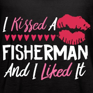 I KISSED A FISHERMAN SHIRT - Women's Flowy Tank Top by Bella