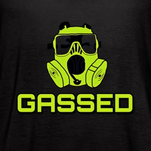 Gassed Shirt - Women's Flowy Tank Top by Bella
