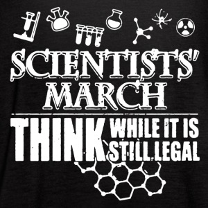 Legal Scientists March Shirt - Women's Flowy Tank Top by Bella