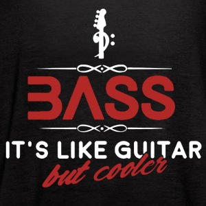 Bass It's Like Guitar Shirt - Women's Flowy Tank Top by Bella