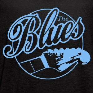 The Blues Music Shirt - Women's Flowy Tank Top by Bella