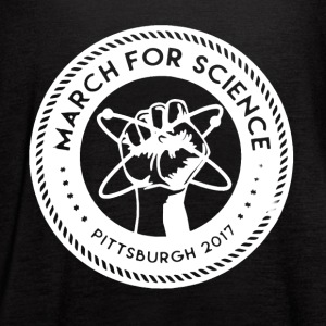 March for Science Pittsburgh Shirt - Women's Flowy Tank Top by Bella