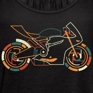 Superbike T Shirt - Women's Flowy Tank Top by Bella