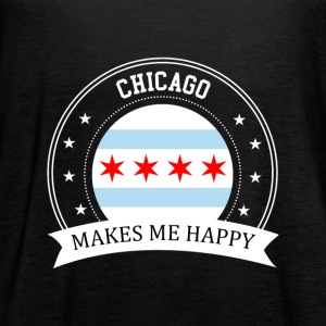 Chicago Makes Me Happy - Women's Flowy Tank Top by Bella