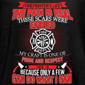 Firefighter is Life - Women's Flowy Tank Top by Bella