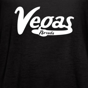 Las Vegas Nevada Vintage Logo - Women's Flowy Tank Top by Bella