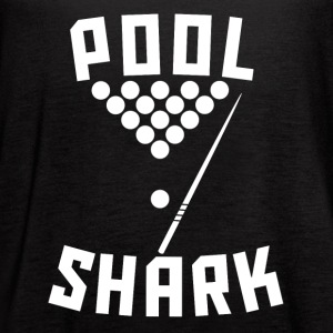 Pool Shark Cool Billiards - Women's Flowy Tank Top by Bella