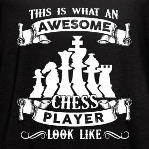 Awesome Chess Player Shirt - Women's Flowy Tank Top by Bella