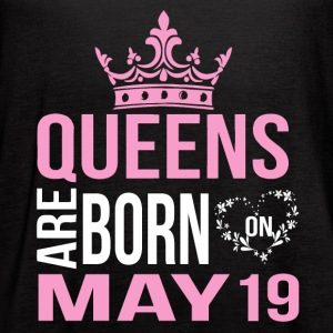 Queens are born on May 19 - Women's Flowy Tank Top by Bella