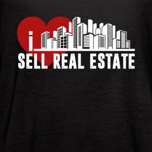 I Love Sell Real Estate Shirt - Women's Flowy Tank Top by Bella