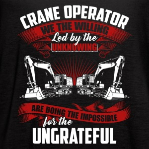 Crane Operator Tee Shirt - Women's Flowy Tank Top by Bella