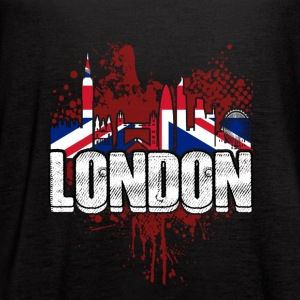 LONDON SKYLINE TEE SHIRT - Women's Flowy Tank Top by Bella