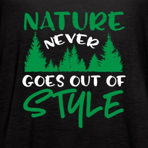 Nature Never Goes Out Of Style - Women's Flowy Tank Top by Bella