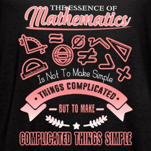 The Essence Of Mathematics Shirt - Women's Flowy Tank Top by Bella