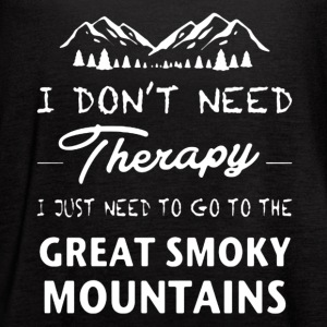 Great Smoky Mountains Shirt - Women's Flowy Tank Top by Bella