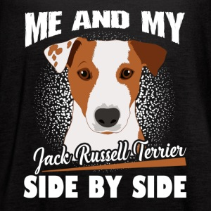 Jack Russell Terrier Shirt - Women's Flowy Tank Top by Bella