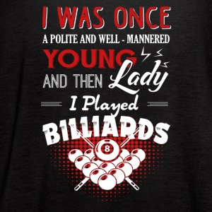 Play Billiards Shirt - Women's Flowy Tank Top by Bella