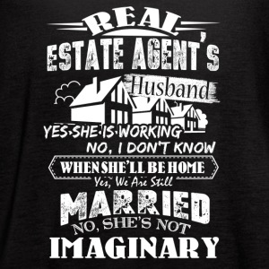 Real Estate Agent's Husband Shirt - Women's Flowy Tank Top by Bella