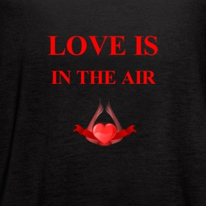 love is in the air - Women's Flowy Tank Top by Bella