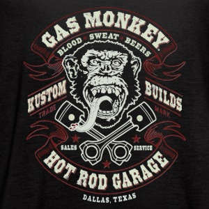 GAS MONKEY LOGO - Women's Flowy Tank Top by Bella