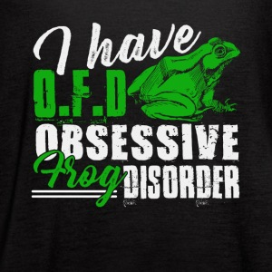 I Have Obsessive Frog Disorder Shirt - Women's Flowy Tank Top by Bella