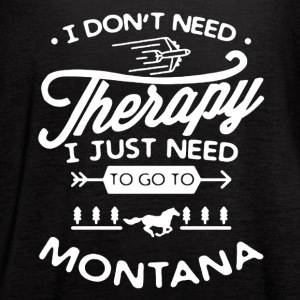 Go To Montana Shirt - Women's Flowy Tank Top by Bella