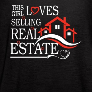 This Girl Loves Sellin Real Estate Shirt - Women's Flowy Tank Top by Bella