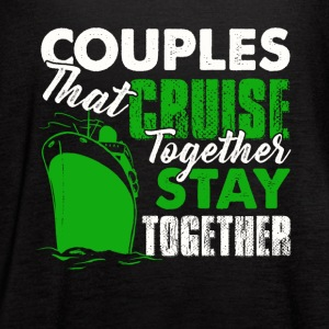 Couples Cruise Together Shirt - Women's Flowy Tank Top by Bella