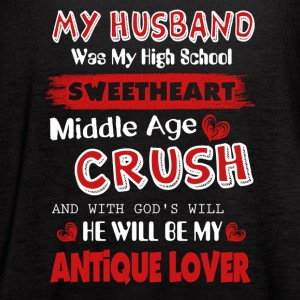 My Husband Was My High School Sweetheart - Women's Flowy Tank Top by Bella