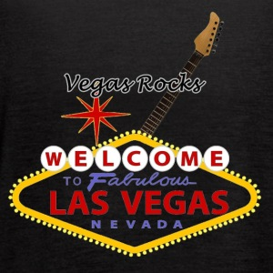 Vegas Rocks - Women's Flowy Tank Top by Bella