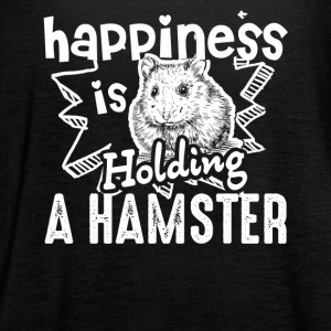 Happiness Is Holding A Hamster Shirt - Women's Flowy Tank Top by Bella