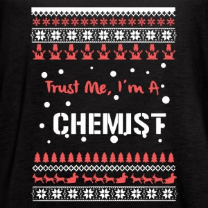 Chemist Christmas Shirt - Women's Flowy Tank Top by Bella