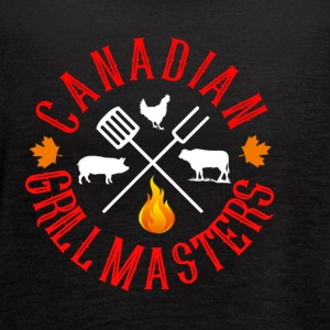 Canadian Grill Master Logo - Women's Flowy Tank Top by Bella