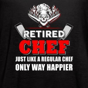 Retired Chef T-Shirts - Women's Flowy Tank Top by Bella