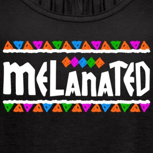 Melanated - Women's Flowy Tank Top by Bella