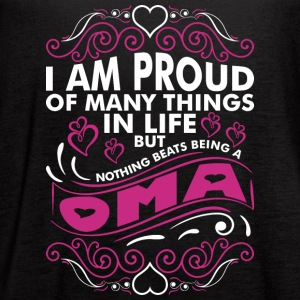 Im Proud Of Many Thing In Life Oma - Women's Flowy Tank Top by Bella