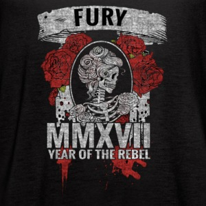 ABNF MMXVII Year Of The Rebel Black Maiden - Women's Flowy Tank Top by Bella