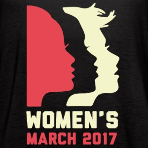 Women's March 2017 Shirt - Women's Flowy Tank Top by Bella