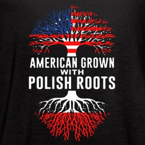 Polish Roots Tee Shirt - Women's Flowy Tank Top by Bella