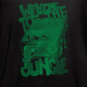 Welcome to the Jungle - Women's Flowy Tank Top by Bella