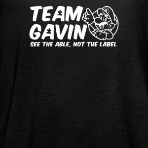 Team Gavin for the Walk for Autism - Women's Flowy Tank Top by Bella
